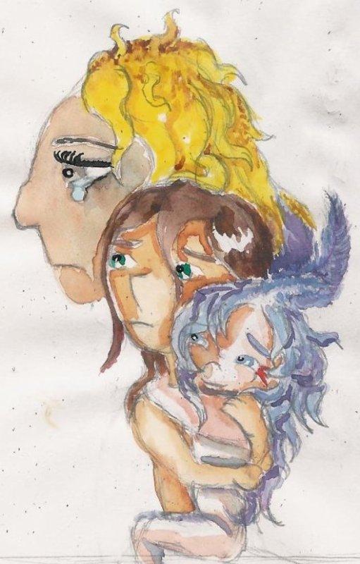 Cupidon porteur (après l'heure)