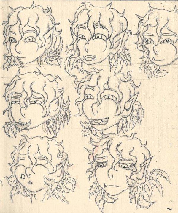 """L'apprentis de Loki / Concours """"Original Character Design"""""""