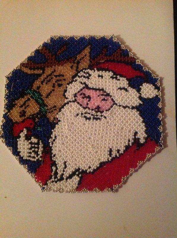 Tissage magie de Noël fini ;)