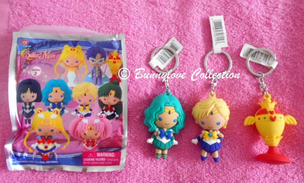 Sailor Moon Toys Collection - Figures Keychains