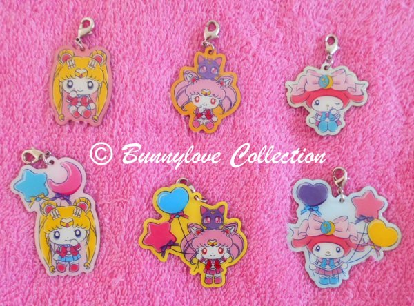 Sailor Moon x Sanrio Charms