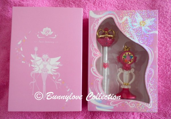 BANDAI Sailor Moon Prism Stationery Ballpoint Pen set of 8 20th Anniversary