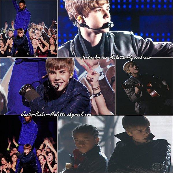 .  Justin a ébloui les Grammy Awards! .