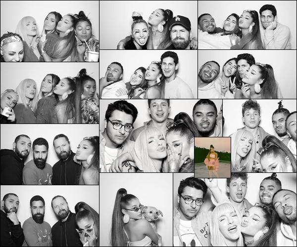 - •• Quelques clichés pris lors de la soirée de lancement du single : « 7 Rings »  d'Ariana ! -