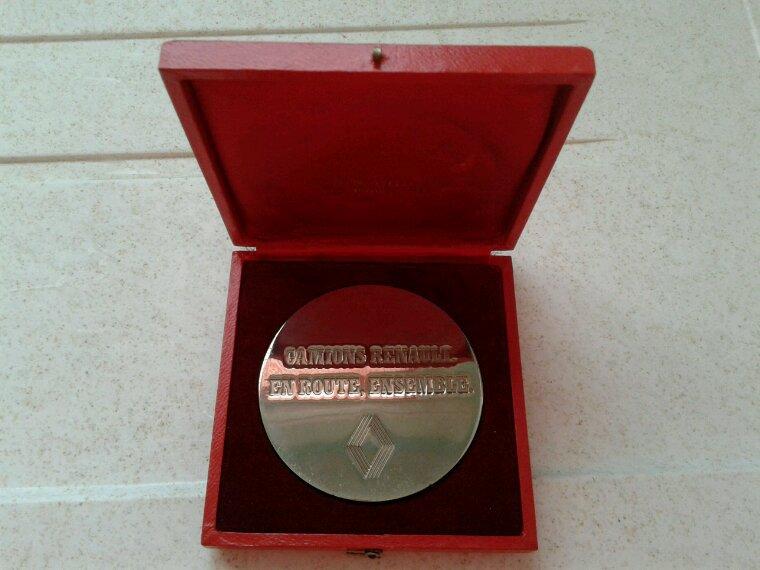 Nouvelle médaille
