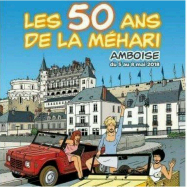 Les 50 ans de la mehari