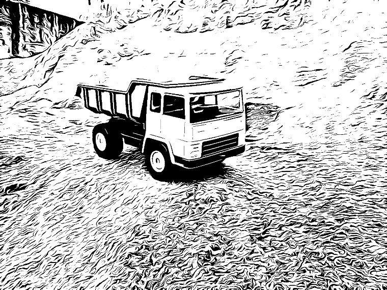 Cabine KB en dessin