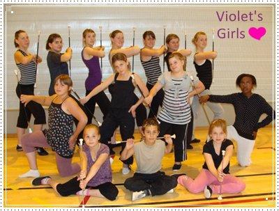 Violet's Girls..