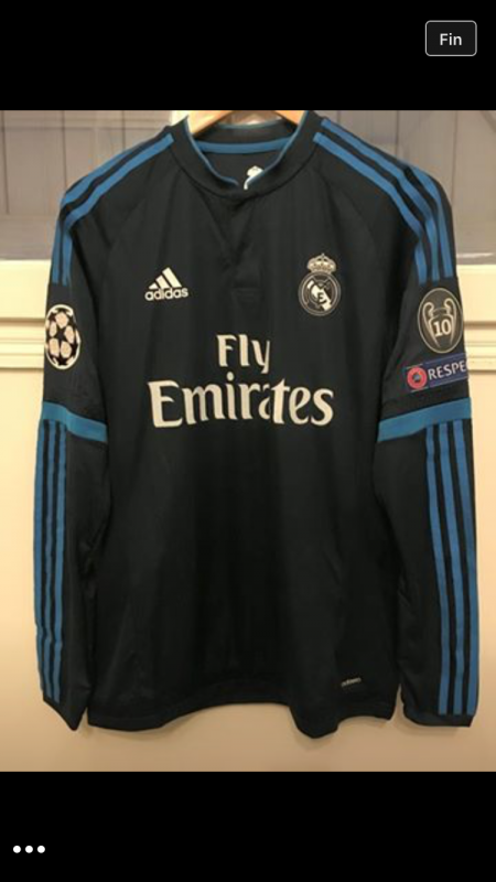 MAILLOT REAL PORTE CR7 Wolsburg / Real 15/16