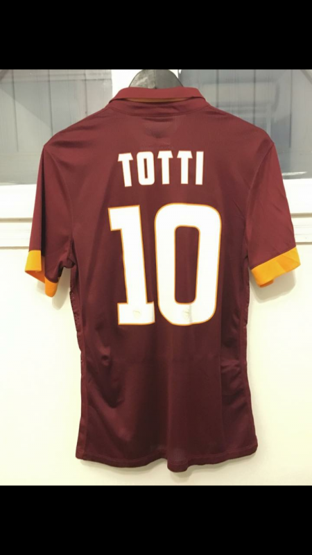 MAILLOT PORTÉ TOTTI MATCH DAY Empoli / AS Roma