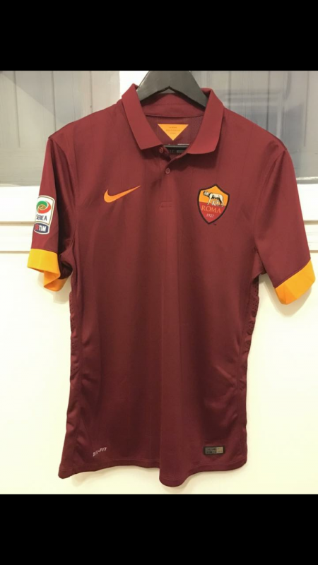 MAILLOT PORTÉ TOTTI MATCHDAY 14/15 Empoli / AS Roma