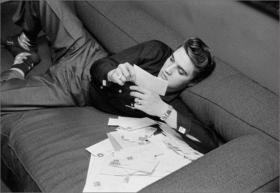 Elvis dans les années 50'