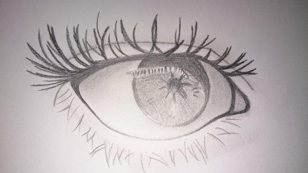 Dessin : oeil réaliste ^^