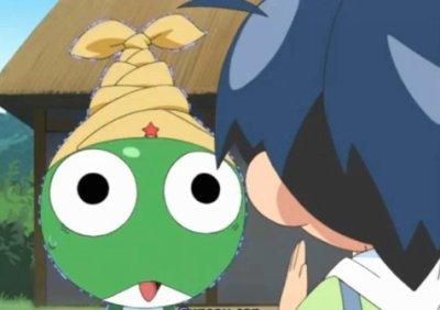 Avant cté Pokémon, maintenant, c'est Keroro !