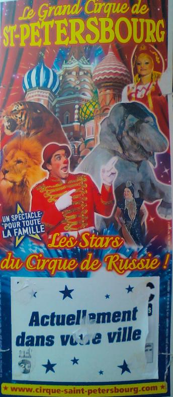 Le cirque de St Petersbourg <3