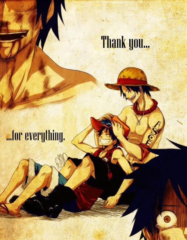 Tu m'avais promis...de ne jamais mourir... [ Mugiwara no Luffy ]