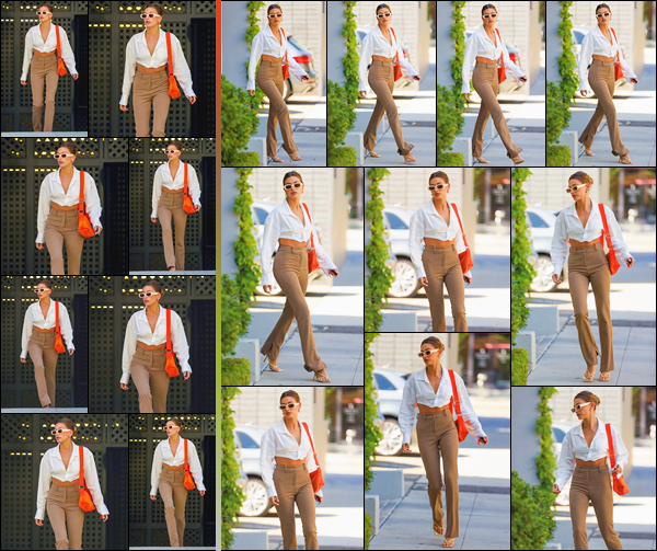 - ''-04/05/21-' : Hailey Bieber a été aperçue arrivant aux bureaux de :« OBB Media »se trouvant à Los Angeles. C'est dans une tenue business girl qui lui va tout simplement à ravir que nous retrouvons Hails pour ce rendez-vous pro. Un énorme top ! -