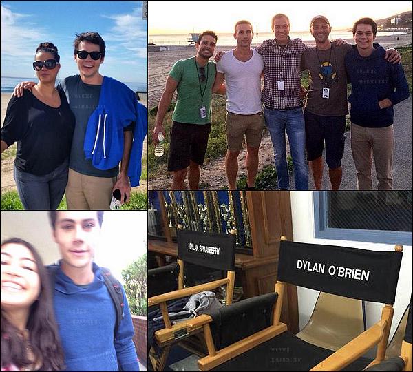 Enfin le retour de Teen Wolf ! Voici des photos de notre beau Dylan sur le tournage.