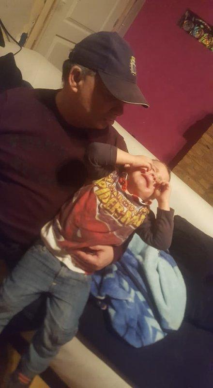 mon papa et mon fils tiziano