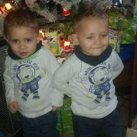 mes jumeaux thymeo et tiziano