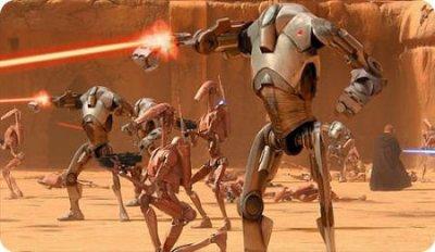 Les mechant droides