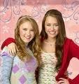 Miley et Lily (l)