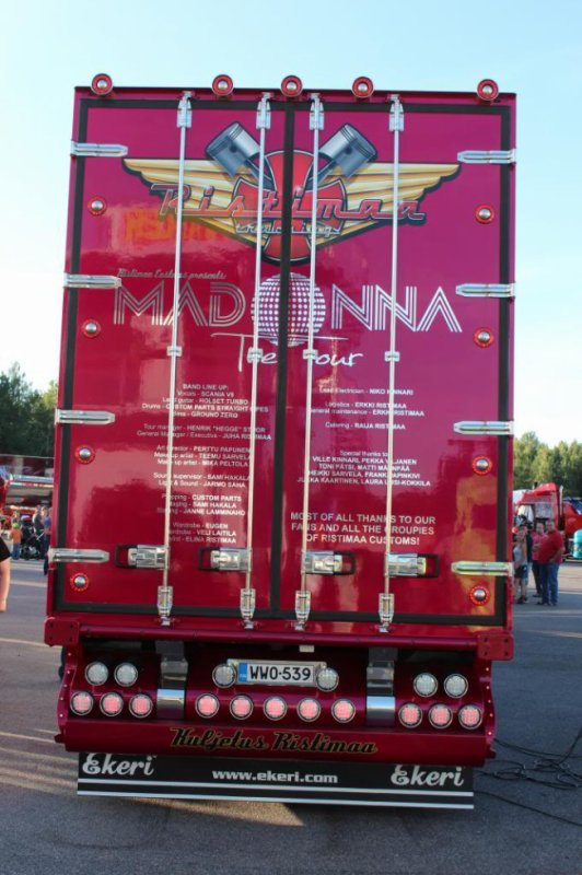 Scania R560 Ristimaa (Project Madonna New Ristimaa showtruck)