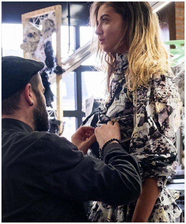 Réinventer la dentelle : Musée des Dentelles et Broderies en mai 2018 avec le créateur Ludovic Winterstan.