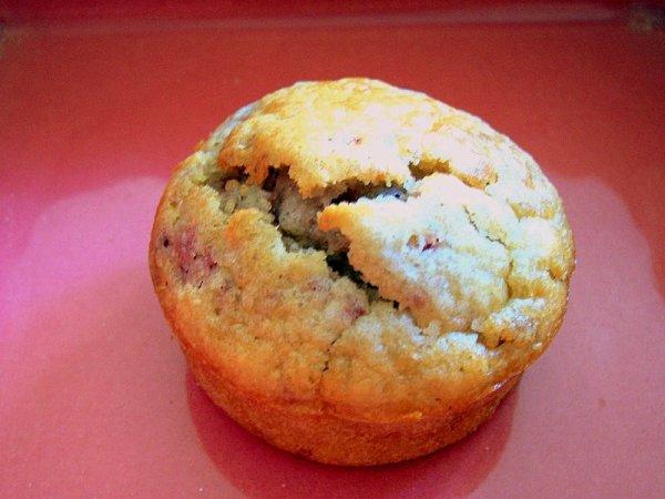 Muffin a la framboise