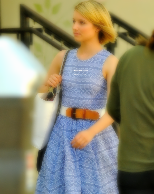 . 15/07/2011 : Dianna a été aperçu faisant du shopping au magasin «Anthropolgie» à Westwood, en Californie. .