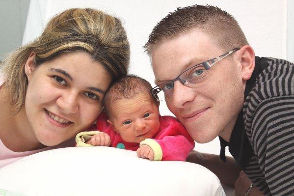 Mario Flauzino : Caty&Jordan et leur fille