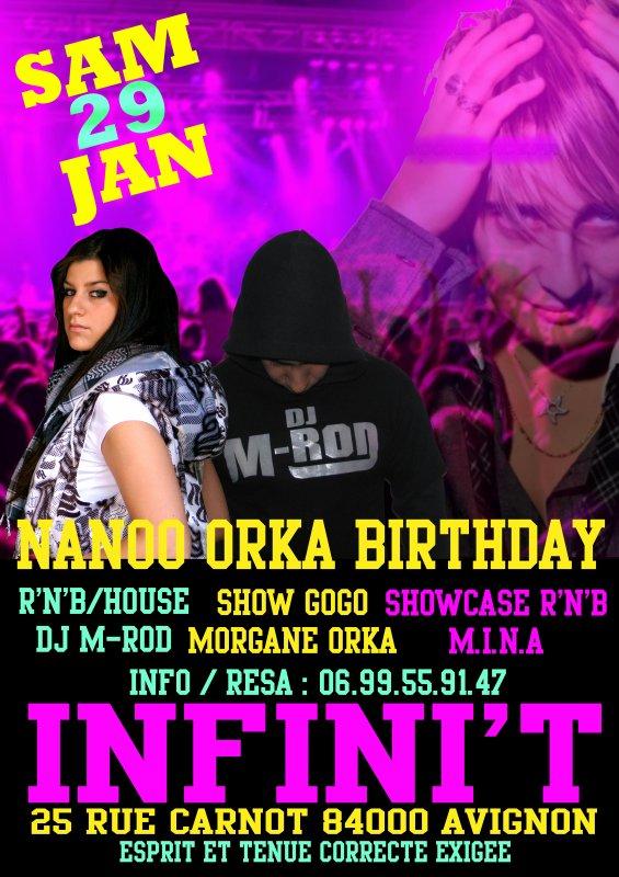 Nanoo Birthday: Show Case de MINA et Dj M-Rod aus platines