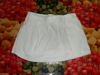 jupe short blanche h&m taille 2 ans