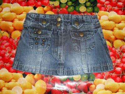 jupe en jeans taille 2 ans