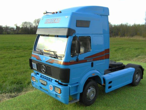 mercedes benz 1850 euro cab (italeri)