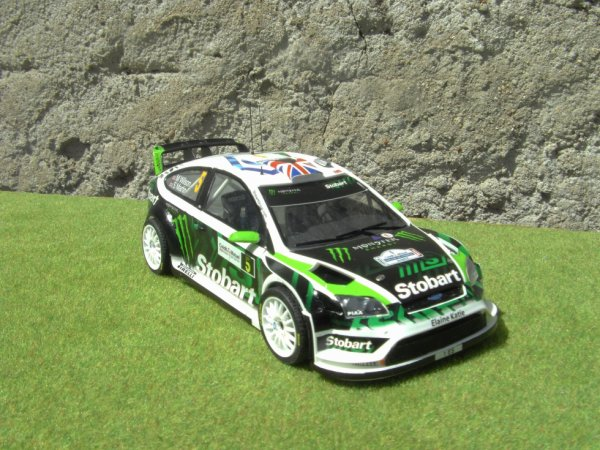 FORD FOCUS WRC RALLYE DE FRANCE 2010