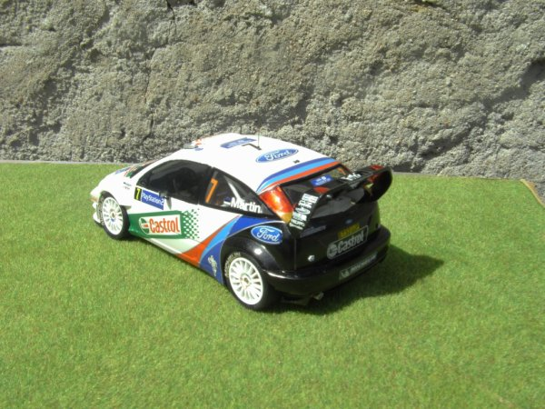 FORD FOCUS WRC RALLYE DE FRANCE 2004
