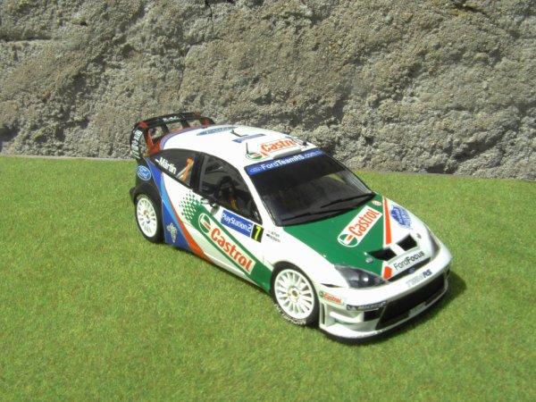 FORD FOCUS WRC RALLYE DE FRANCE 2004