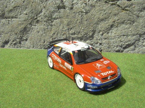 CITROEN XSARA WRC RALLYE DE MONTE-CARLO 2004