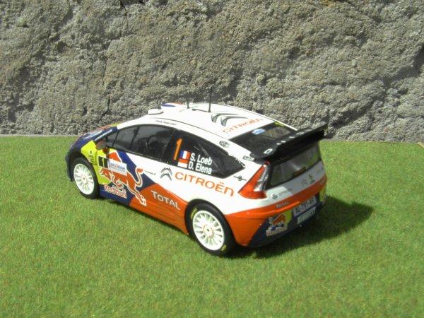 CITROEN C4 WRC RALLYE DE FRANCE 2010