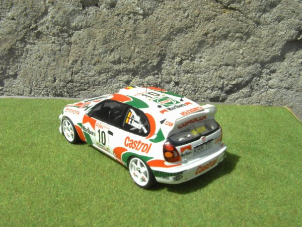 TOYOTA COROLLA WRC RALLYE D'ITALIE 1997