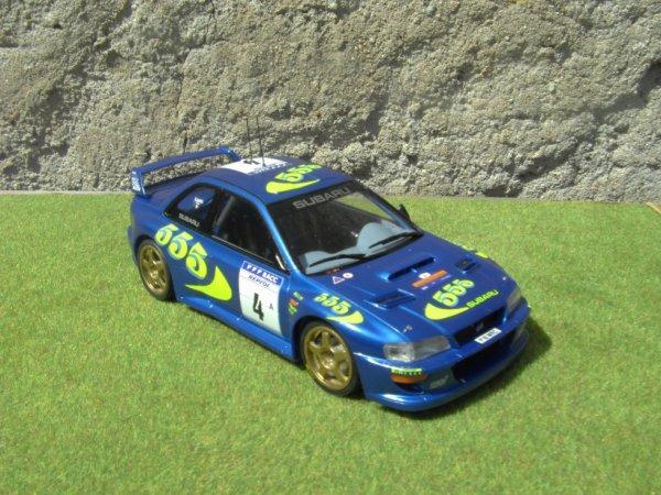 SUBARU IMPREZA WRC RALLYE D'ESPAGNE 1997