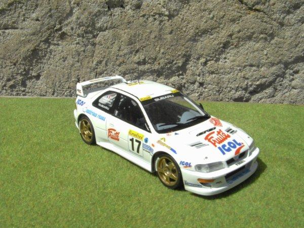SUBARU IMPREZA WRC RALLYE DE MONTE-CARLO 1999