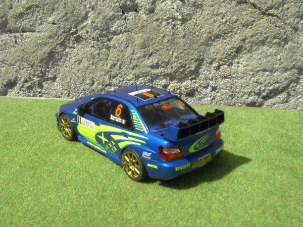 SUBARU IMPREZA WRC RALLYE DE MONTE-CARLO 2005