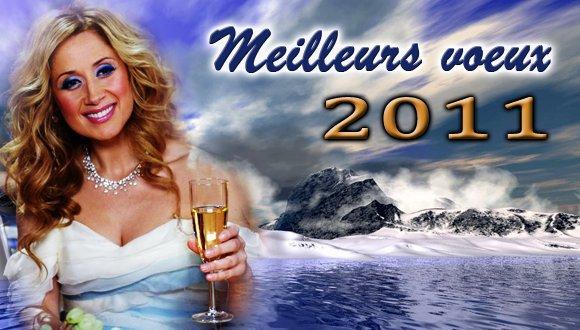 ♥ BONNE ET HEUREUSE ANNEE 2011 Les Anges ET A NOTRE LARA ET SA FAMILLE ♥