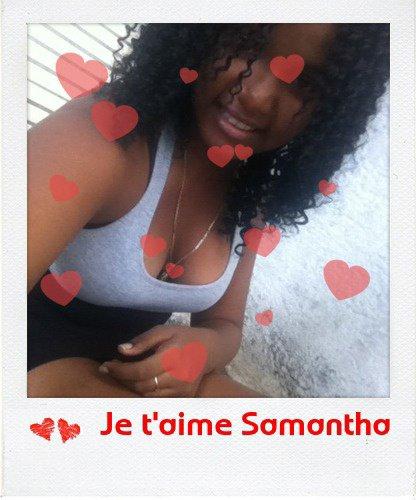 Je t'aime Samantha ♥