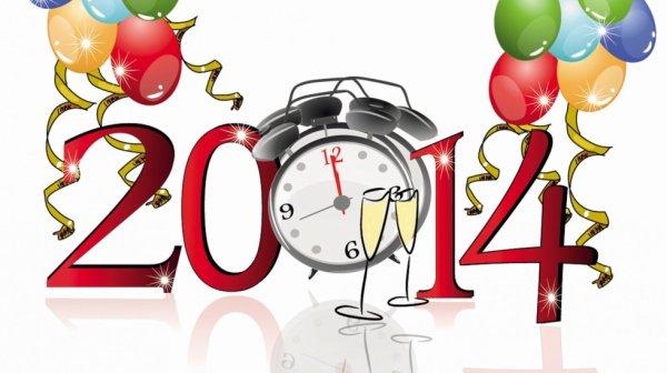 Bonne année 2014 à vous tous!!