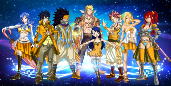 L'équipe fairy tail ultimate