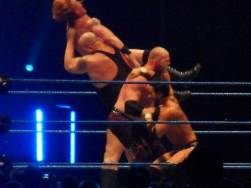 PHOTOS DE LIEVIN 2011 : Double Chokeslam ! OMG