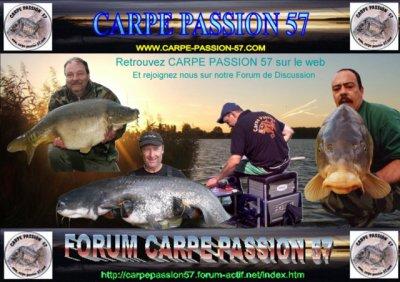 Bienvenue sur le Blog de CARPE PASSION 57